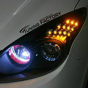 hyundai i30 led turn signal from hi motors korea