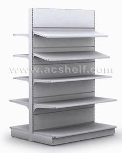 Wholesale supermarket display shelving: Supermarket Shelf with Flat Backboard