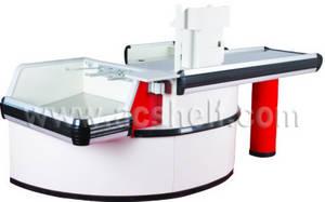 Wholesale Checkout Counters: Checkout Counter Cash Counter AC-CC-0113