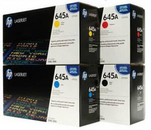 Wholesale color toner: HP 645A Original Toner Cartridge C9730A C9731A C9732A C9733A for HP Color LaserJet 5550dtn 5500