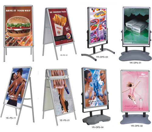 Sell Exhibition Advertising Board;infomation board; poster stand(id ...
