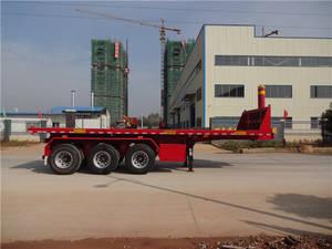 Wholesale semi trailer: China 3 Axle Flatbed Tipper Trailer Semi-trailer