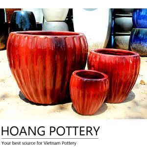 Wholesale art: Vietnam Cheap Small Glazed Outdoor Pots