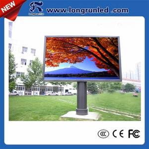 Wholesale outdoor advertising: Outdoor P10 LED Large Screen Display for Commercial Advertising
