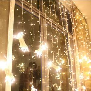 Wholesale light curtain: Wedding LED Curtain Lights Decoration