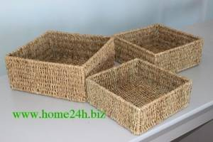 Wholesale seagrass: Best Selling Seagrass Hamper Baskets Handwoven