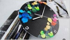 Wholesale Shower Caps: Corlorful Contemporary Wall Clocks LY-015 / Acrylic Art Wall Clock