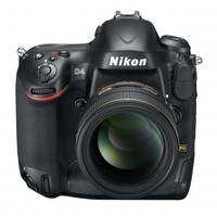 Nikon D4 16.2 MP CMOS FX Digital SLR Camera with Full 1080p HD Video