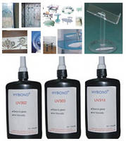 UV Adhesive(glue) for glass to glass, metal, plastic