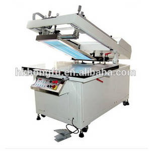 Wholesale screen printing machine: Flatbed Screen Printing Machine for Glass Metal Plastic Sheet Product