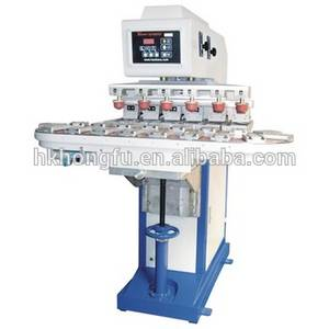 Wholesale cup pad: HK Semi Automatic Manual Ink Cup Tampo Pad Printing Machine