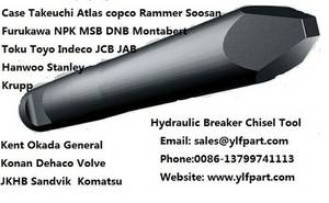 Wholesale kent hydraulic breaker: Hydraulic  Rock Hammer/ Hydraulic Breaker Chisel Tool Bits Spare Parts Replacement Parts