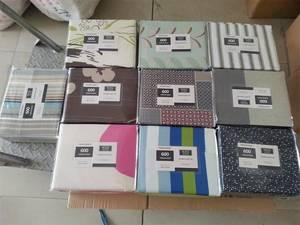Wholesale bed sheet set: 100% Cotton Bed Sheet Set 300Thread Count