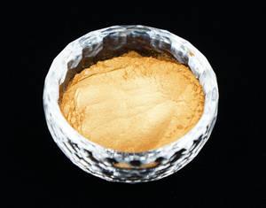 Wholesale Furniture Paint: Royal Gold 323 5-25um Pearl Pigment Golden Pigment Powders Pearlescent Pigment for Funiture Paint