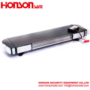 Wholesale police car: LED Warning Lightbar with LED Display, Strobe Light Bar for Police Car HS1040D