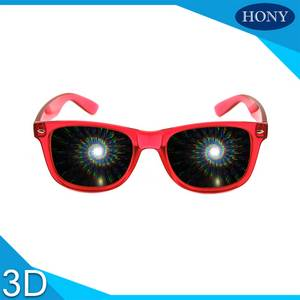 Wholesale fireworks: Best 3D Party Rainbow Fireworks Plastic 13500 Lines Clear Bulk Sipral Light Diffraction Glasses