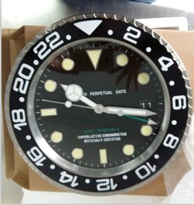 Wholesale Wall Clocks: Stainless Steel Wall Clock Watch Style Wall Clock