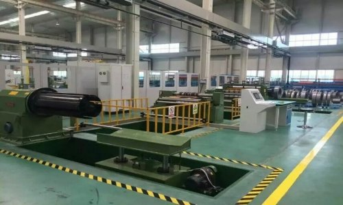 Silicon Sheet Slitting Line