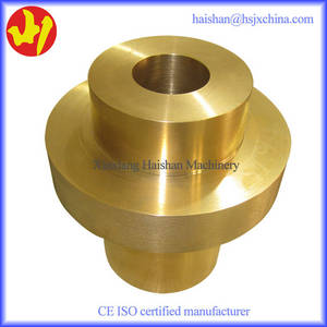 Wholesale mechanical parts: OEM Mechanical Parts Flange Brass Bushing
