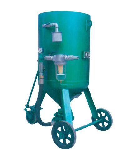 Sell wheel sand blast pot