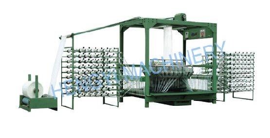 Rolling-Column Style Six-Shuttle Circular Loom