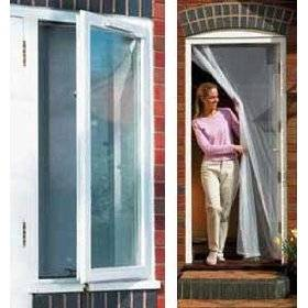 sell instant drop down door screen window screen insect On pull down fly screen for doors
