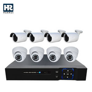 Wholesale cctv system: Waterproof 8CH CCTV Camera AHD DVR KIT System for Outdoor and Indoor