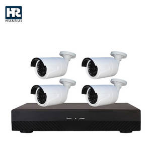 Wholesale cctv accessories: 2017 Top Sales 4CH POE NVR Security CCTV Camera Kit