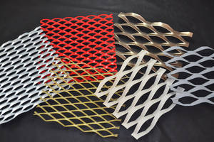 Wholesale aluminum mesh facade: China  Alu 3003H14 Expanded Metal Plates