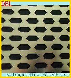Wholesale metal perforated screen: Decorative Curtain Wall Perforated Mesh