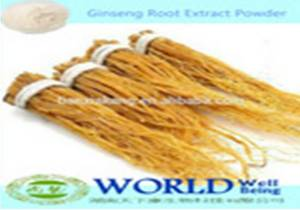 Wholesale ginseng extract: Chinese Manufacturer Ginseng Extract 4%-80% Ginsenosides 2015 Ginseng Extract Powder