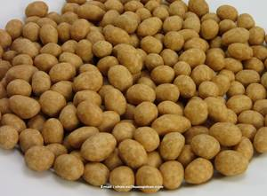 Wholesale coated peanut: Roasted Peanuts with Coconut Juice - 10kg in Vacuum Bag