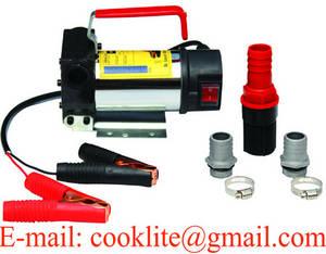 Wholesale fuel dispenser: 12/24V DC Electric Oil Diesel Fuel Transfer Pump / Diesel Fuel Dispenser - 120W 30L/Min