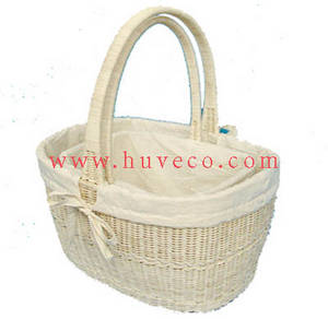 Wholesale baskets: Rattan Shopping Basket