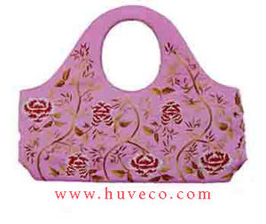 Wholesale handbags: Silk Handbag