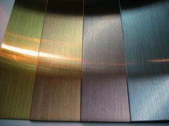 Stainless Steel Sheet With Titanium Color Coating Pvd Id