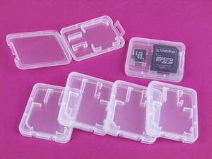 Wholesale cosmetic box set: Memory SD Card Case