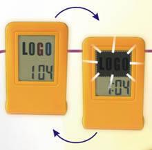 Wholesale gifts: Flashing Logo + Alarm Clock = Promotional Gift