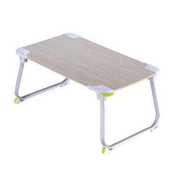 folding table: Sell Portable Wooden Laptop Desk Smart Table with MDF Panel Aluminum Legs