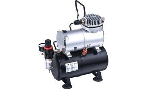 Wholesale oil painting: Oil-Free Aerografia Compressor AS-186 for painting