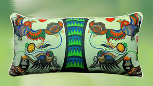 Wholesale Cushion Cover: Art Bolster Cover - Tree of Life (II)
