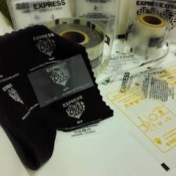 garment tag: Sell Garment tag Heat Transfer Film Label Sticker