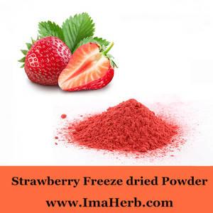 Wholesale organic fruit juice: Organic Freeze Dried Strawberry Fruit Bulk Juice Powder Natural High Quality Strawberry Freeze-dried