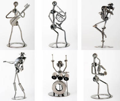Sell musical metal arts and crafts products for Metal art craft supplies