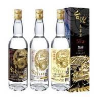 Taipei Kaoliang Liquor 58% 53% 38%