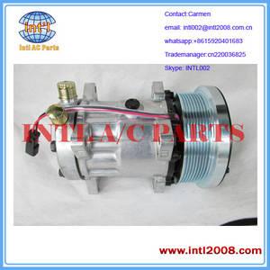 Wholesale clutch pump: Sanden SD7H15SHD 8 Groove 133mm Clutch Auto Pump AC Air Con Compressor  9847944 82016158