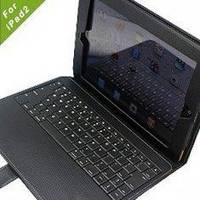 Ipad 2 Accessories Protective Wireless Case With Bluetooth Keyboard / 4900mah Battery