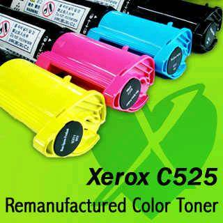 Xerox C525 Remanufactured Color Toner Cartridges