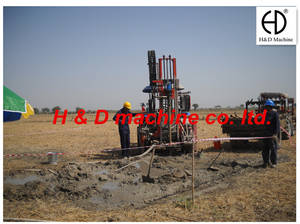 Wholesale clutch pump: HD-T100D Tractor Water Well  Drilling Rig