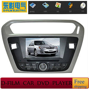 Wholesale dvd loader: Car DVD Player GPS Navigation for Citroen Elysee with GPS Touch Screen Bluetooth TV